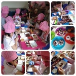Donat Class at AIRA's Birthday Party, 2014, Jagakarsa, Jaksel