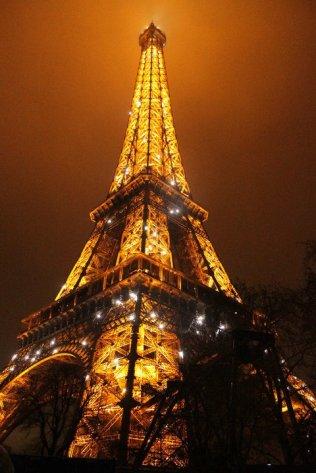 Menara Eiffel, X-Mas 2010