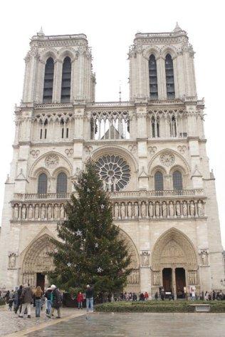 Notre Dame de Paris, X-Mas 2010